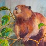 Beaver Tales Exhibit Art Sample