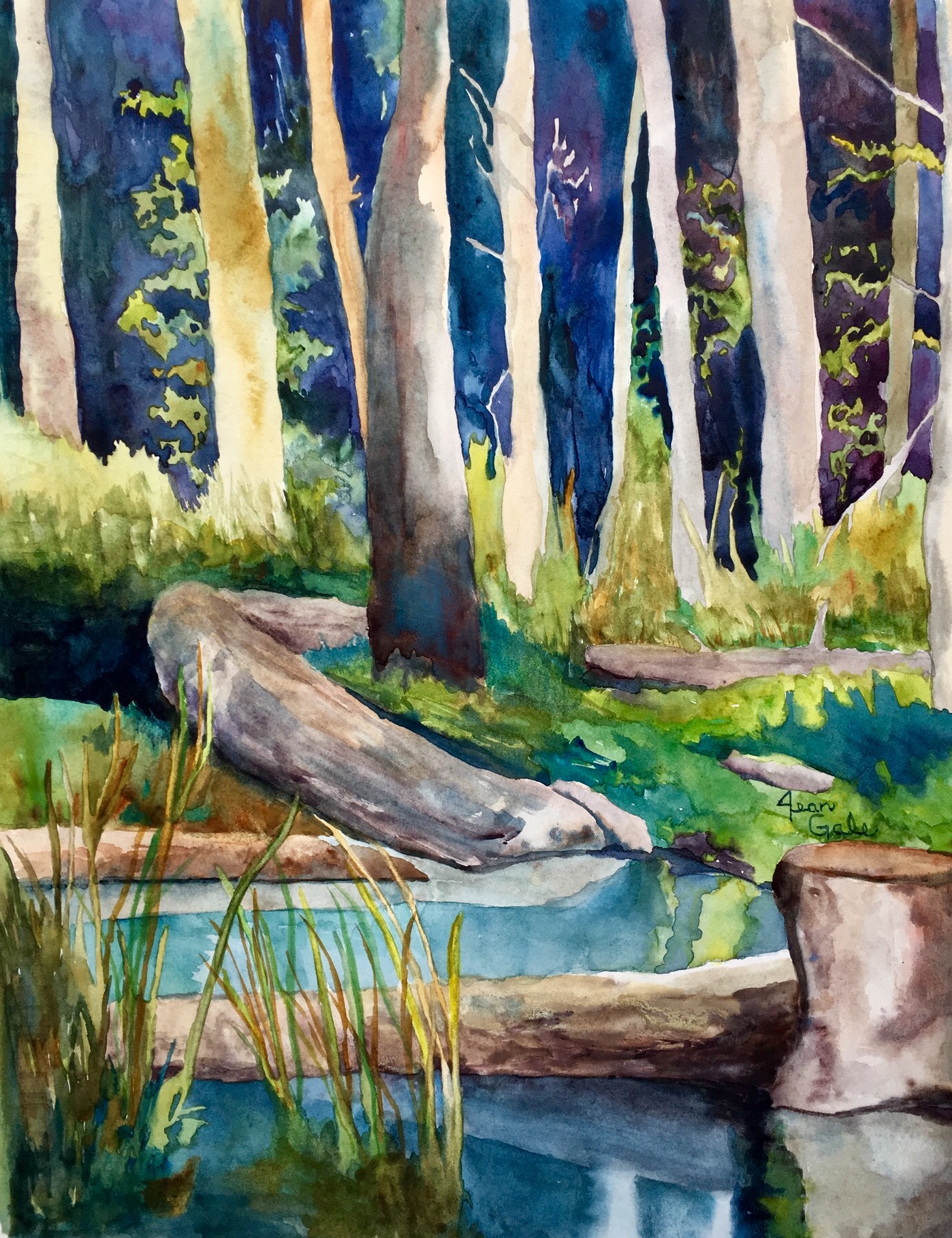 Mary Young Park, Jean Gale