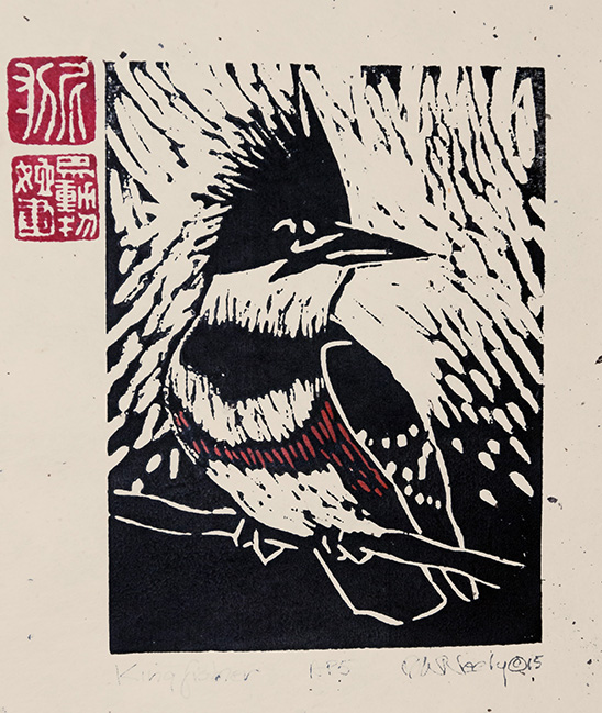 Neely-Kingfisher-woodcut