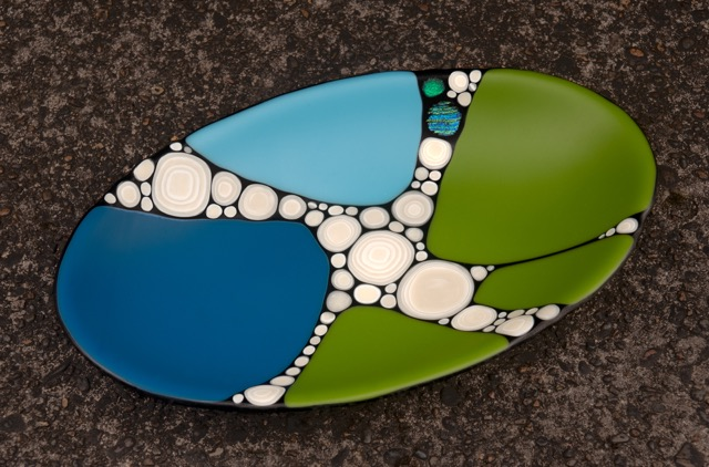 ferrante-blue green fun-glass
