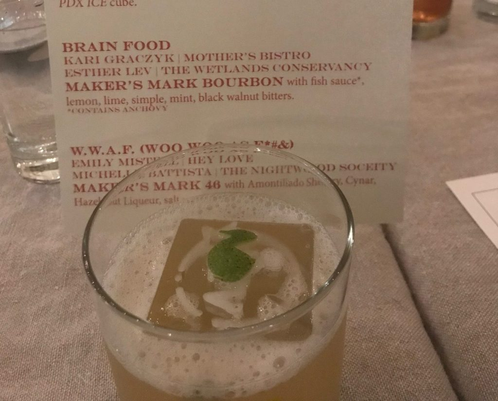 Makers Mark, Brain Food